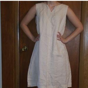 Flax Oversize Size M 100% linen dress 1 pocket